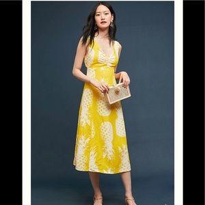 Anthropologie Pineapple Dress